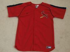 ST. LOUIS CARDINALS NIKE RED MLB BASEBALL JERSEY REGULAR SEASON BOYS XL