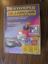 Avery Dennison CD Stomper Pro CD Labeling System New Unopened Sealed