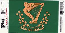 """Erin Go Bragh Ireland Irish St. Patrick's Day 3.5"""" x 5"""" Decal Bumper Sticker"""