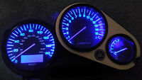 led clock upgrade kit lightenUPgrade BLUE YAMAHA FZS 600 FAZER