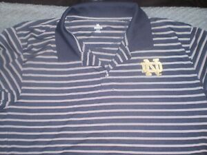 Notre Dame polo by Knights Apparel men's size 2XL