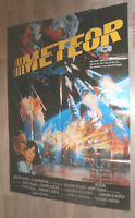 A0 Filmplakat   METEOR,   SEAN CONNERY, NATALIE WOOD