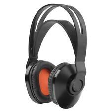 Uno para todos HP1020 Diadema Ajustable Auriculares inalámbricos de TV de alimentación de la Batería Negro