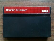 """Rescue Mission"" Sega Master System Game USED (PAL)"
