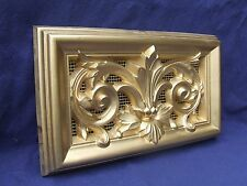 Air Vent Antique light Gold Finish Cover with insect mesh 334mm x 185mm