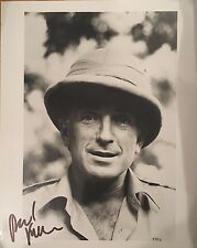 Paul Freeman Signed 10x8 Photo - Indiana Jones