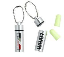 Ear Plugs Defenders Keyring Case Formula One 1 BAR Honda F1 Button Earplugs NEW!