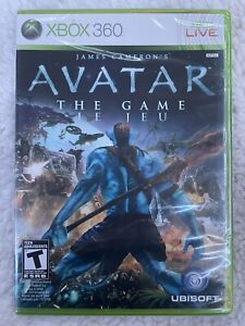 James Cameron's Avatar: The Game (Microsoft Xbox 360, 2009) BRAND NEW Sealed!!