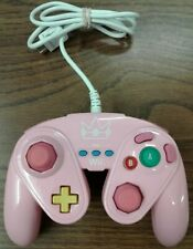 Peach Wired Fight Pad Nintendo Wii Tested