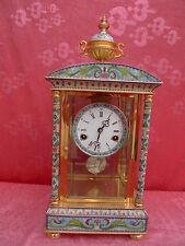 noble, Alta Calidad Reloj de chimenea __ Cloisonne __ 47cm __ __ __ SUPERIOR