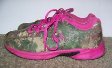 821f09856f6d6 Real Tree Girls Pink Camoflage Cobra Jr. Size 3M Shoes