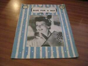 LONDON LEISURE SPECIAL EDITION BLUE FOR A BOY FRED EMNEY RICHARD HEARNE 1950