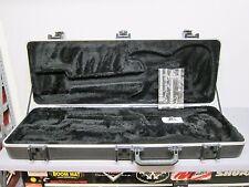 2008 SKB Fender Black ABS HARDSHELL CASE American Standard Strat Tele USA Guitar