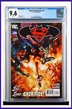 Superman Batman #73 CGC Graded 9.6 DC August 2010 White Pages Comic Book.