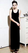 Summer/Beach Machine Washable Solid Maxi Dresses for Women