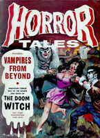 Horror Tales 45 Issue Magazine Collection On USB Flash Drive