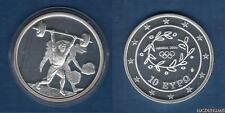 Grèce 2004 10 Euro Haltérophilie Jeux Olympiques été Athénes 2004 - Greece