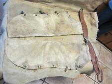 Vintage Leather Cowboy Chaps > Antique Horse Bit Old Western Saddle 9907