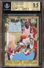 1995-96 Upper Deck Ball Park Gold Michael Jordan #3 BGS 9.5 GEM MINT.Rare POP 1