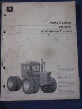 John Deere 7020 4WD Tractor Parts Manual PC-1236