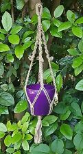 Handcrafted Macramé Plant Hanger for smaller spaces