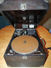 Antique Early 1920's Victor VV-50 Victrola Portable Phonograph Serial # 121529