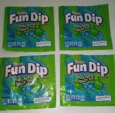 Fun Dip Razz Apple Magic Dip 30 Pouches of Candy .43oz each Razzapple New 1/21