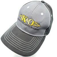 K & O Kansas and Oklahoma Railroad Ball Cap - Hook & Loop - Never Worn