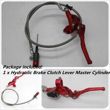 1 x Hydraulic Brake Clutch Lever Master Cylinder For 22MM Handbar 90cm Long Wire