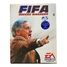 PC FIFA Soccer Manager Sport-Fußball EA Sports Win 95 Big Box