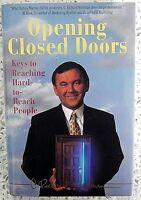 C. RICHARD WEYLMAN OPENING CLOSED DOORS SIGNED 1ST EDITION HARDBACK