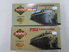 BRAWA / PROTO 2000 SERIES HO 8314 + 8329 UNPOWERED FB2 LOCOMOTIVES TBE en boites