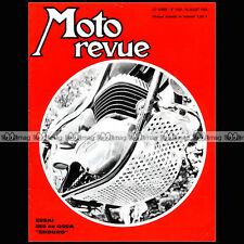 MOTO REVUE N°1941 ★ OSSA 250 ENDURO ★ BILL IVY ★ BOL D'OR ★ LES CHAMOIS 1969
