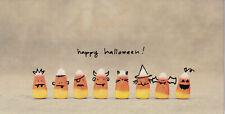Papyrus Halloween Card Nip Msrp $4.95 Candy Corns Card (B6)