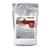 PURE NIACIN 500g (1.1 lb) Powder Nicotinic Acid Vitamin B3 Cholesterol Heart