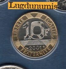 BU 2001 10 Francs Génie 2001 BU FDC Pièce Provenant du BU 125000 ex sous scellé