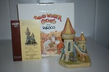 David Winter Cottages Mabon'S House D1109 King Arthur Collection 2000 Box Coa