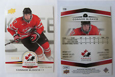 2014-15 UD Team Canada #110 Connor McDavid 07/10 RC high glossy HG Rookie HOT