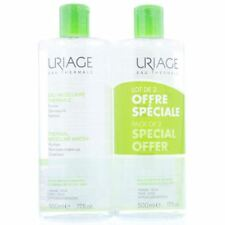 Uriage Thermal Micellar Water 2 X 500ml Combination To Oily Skin