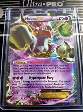 Pokemon Hoopa Ex Xy71 - Xy Legendary Black Star Promo Ultra Rare + Hard Sleeve!