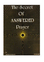 Finbarr books The Secret of Answered Prayer Spiritual Ancient booklet/ newage