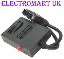 2 VIE commutata Scart input Selector Switch Splitter Box