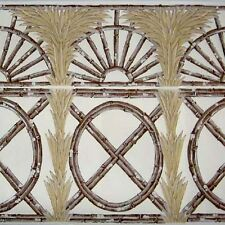 CLARENCE HOUSE Java Bamboo Trellis Wallpaper Border/Frieze 75 ft x 14 in Bolts