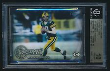 2014 Topps Chrome Fantasy Focus Refractor Aaron Rodgers BGS 10 Pristine /99