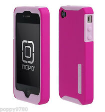 Incipio SILICRYLIC Hard Cover Double Case Shell Ultra-thin for iPhone 5 /5S pink