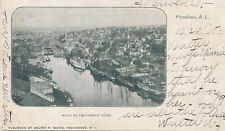 Providence RI * Head of River 1905 * Walter R. White Pub. – Message by White?