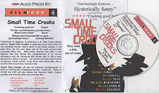 Woody Allen SMALL TIME CROOKS(2001)  Audio press kit CD and notes
