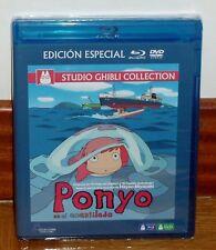 PONYO EN EL ACANTILADO-GAKE NO UE NO PONYO-COMBO BLU-RAY+DVD-MANGA-PRECINTADO