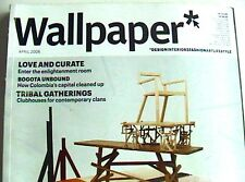 New ListingWallpaper Magazine 109 April 2008 Design Interiors Special Fashion Art Lifestyle