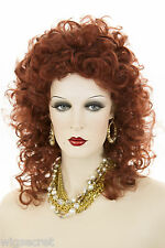 Feminine and Dramatic Long Curly Ringlets Layered Gypsy Style Wig